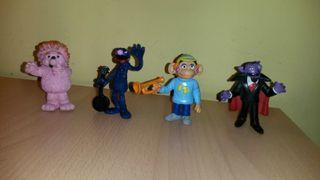 Figuras Barrio sesamo comics spain PVC muppets