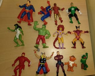 Figuras superheroe marvel xmen DC comics spain PVC