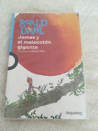 libro JAMES Y EL MELOCOTON GIGANTE