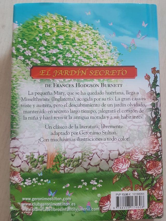 El Jardin Secreto Libro Infantil Juvenil De Segunda Mano Por 6
