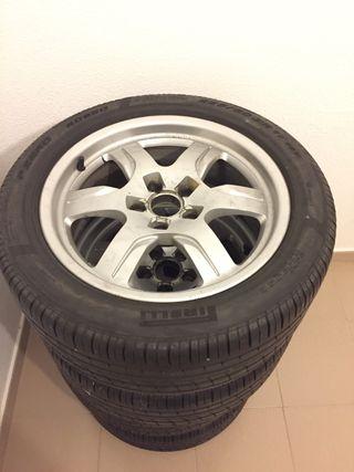 4 Llantas para audi neumáticos 225/50 17