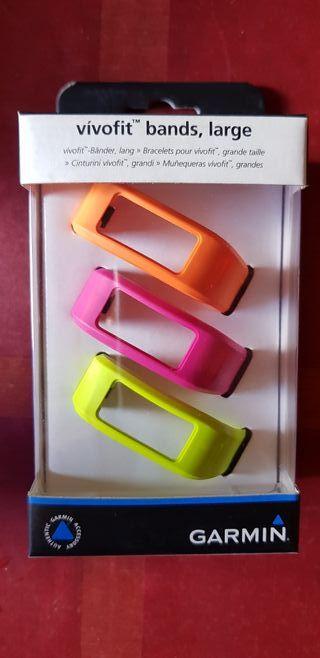 Garmin vivofit pulseras