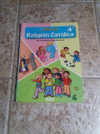 Libro Religión 4' Primaria