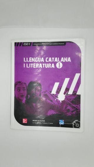 Libro 1º ESO LLengua catalana i literatura I