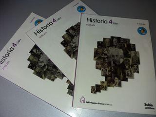 LIBRO HISTORIA 4° Eso