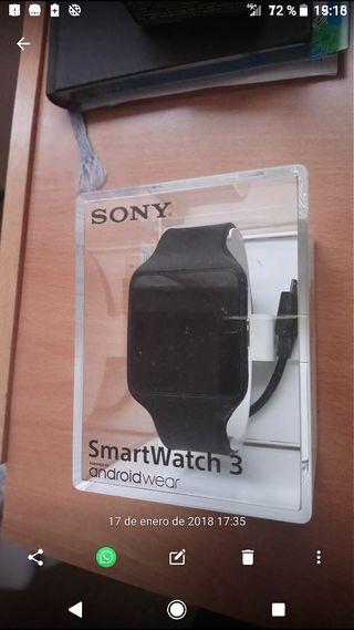 Reloj Sony Smartwatch 3 ,sin estreñar