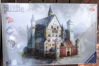 Puzzle 3D castillo Neuschwanstein.Sin desprecintar
