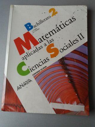 MATEMÁTICAS 2° BACHILLERATO