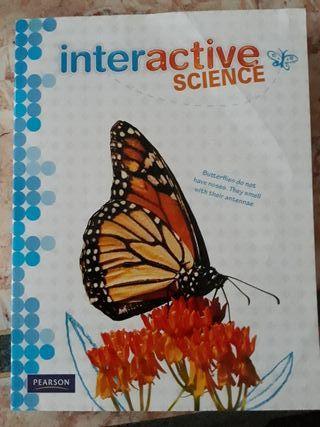 Libro texto INTERACTIVE SCIENCE