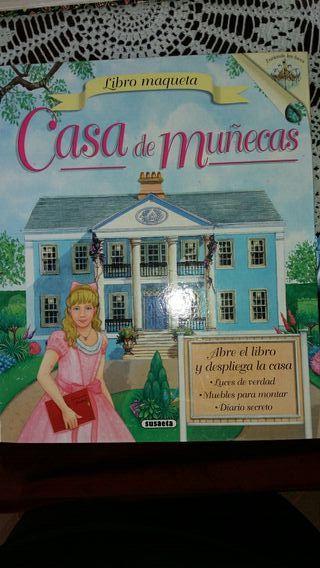 Libro Maqueta Casa de Muñecas