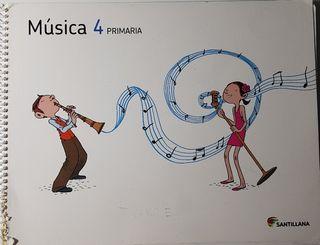 libro música santillana 4