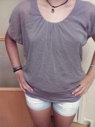 camisa gasa talla s