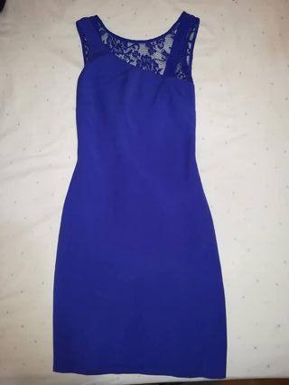 Vestido azul boda fiesta