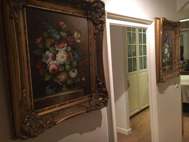 Cuadro Marco Pintura Arte Oro vintage de segunda mano por 90 € en ...