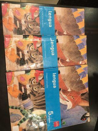 vendo libros de 5º de primaria SM