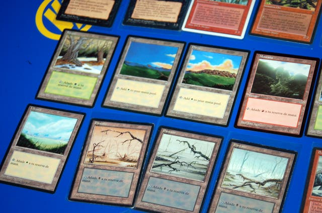 Lote cartas 50 cartas MAGIC The Gathering+ fundas