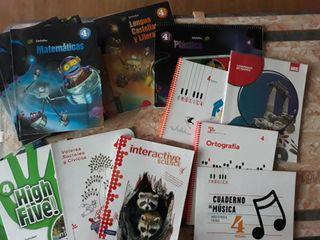 Libros texto 4° primaria Colegio Artica