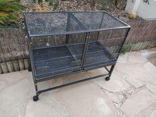 jaula de cria para aves