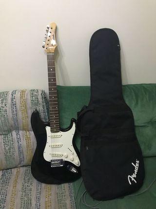 Guitarra eléctrica samick más amplificador marsall