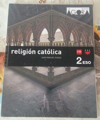Libro de religión 2°Eso.
