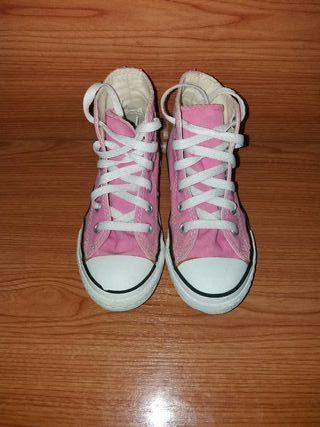 Zapatillas converse número 27