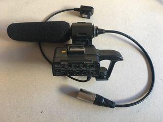 Adaptador audio XLR Sony A7 a9