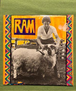 Vinilo de Paul McCartney. RAM. LP