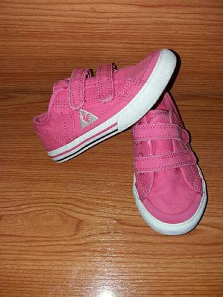 Zapatillas rosas lep coq sportif número 25