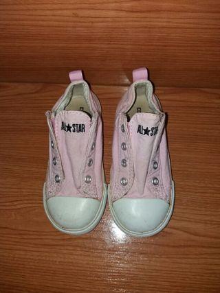 Zapatillas converse número 25