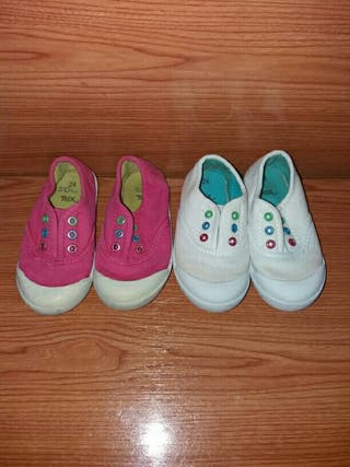 Lote de zapatillas número 24