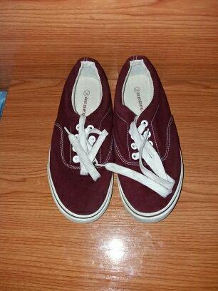 Zapatillas lona número 33