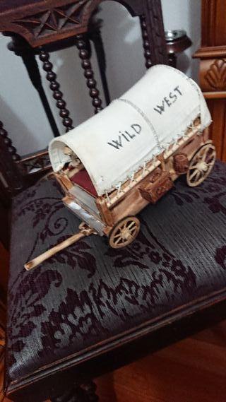 carrito de viejo oeste