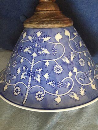 Lampara cerámica