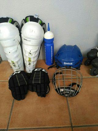 equipacion hockey