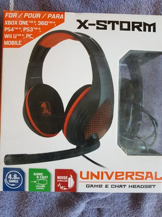 Auriculares Gaming X-Storm