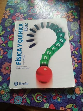 Libro física y química. 2 ESO. Bruño