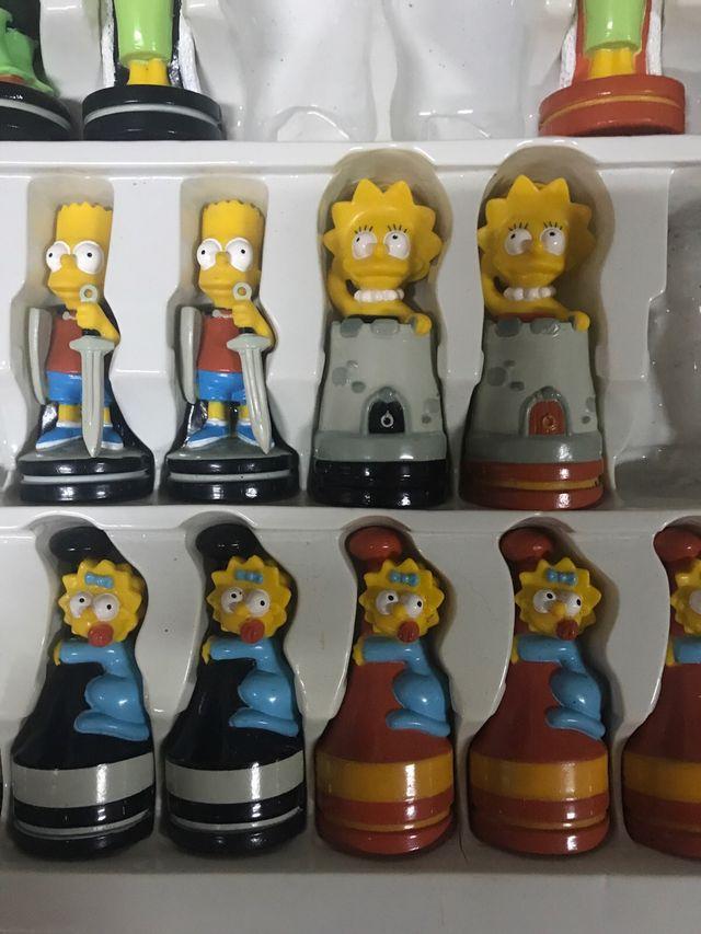 Ajedrez Simpsons