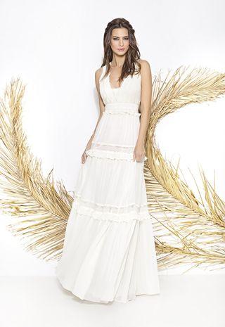 vestido de novia largos de segunda mano en valencia en wallapop
