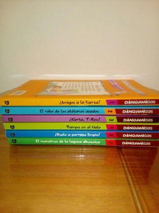 libros lectura infantil Dino Amigos
