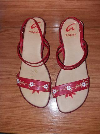 Sandalias de piel número 40