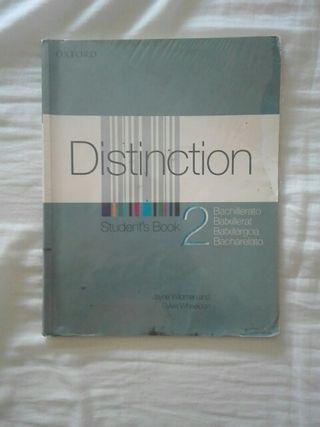 Libro de Ingles Distinction 2