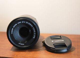 Objetovo Canon 55 - 250