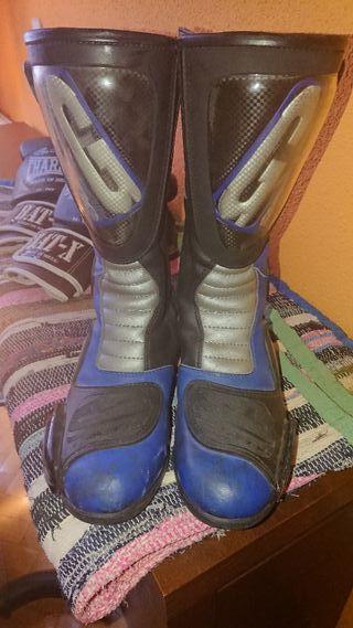 botas de moto gaerme en buen estado poco uso