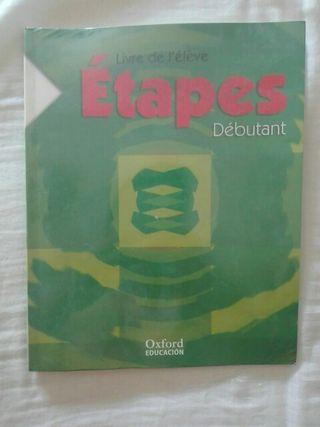 Libro Frances Etapes Debutant