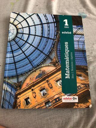 Libro de matematicas 1 eso