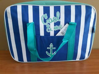 bolsa nevera de playa Amarillo 45 x 16 x 31. artic