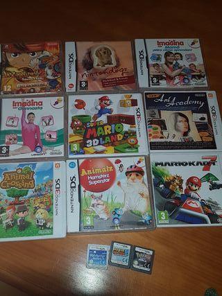 Juegos DS y 3DS