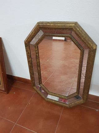 Espejo con marco de espejos