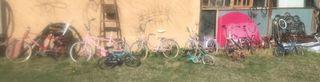 Bicicleta plegable lote