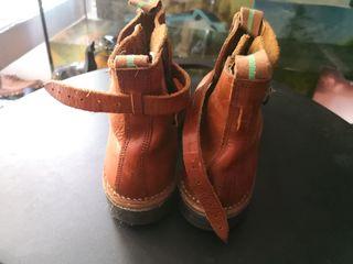 botas de piel hombre